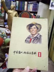 中国画人物技法资料画片-文革期间出版的名家画片,画像极具文革时代特色。