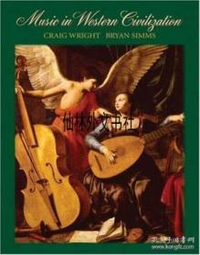 【包郵】2005年出版 Music In Western Civilization (available Titles Cengagenow)