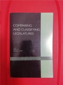 Comparing and Classifying Legislatures (立法机关之比较与分类)研究文集