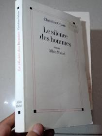 Le silence des hommes 霍姆斯的沉默 外文原版