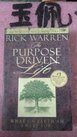 原版英法德意等外文书 THE PURPOSE DRIVEN LIFE RICK WARREN ZONDERVAN 2002年 小16开硬精装