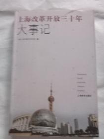 上海改革开放三十年大事记