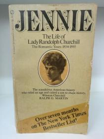 Jennie The Life of Lady Randolph Churchill , The Romantic Years 1854-1895 by Ralph G. Martin (丘吉尔家族)英文原版书