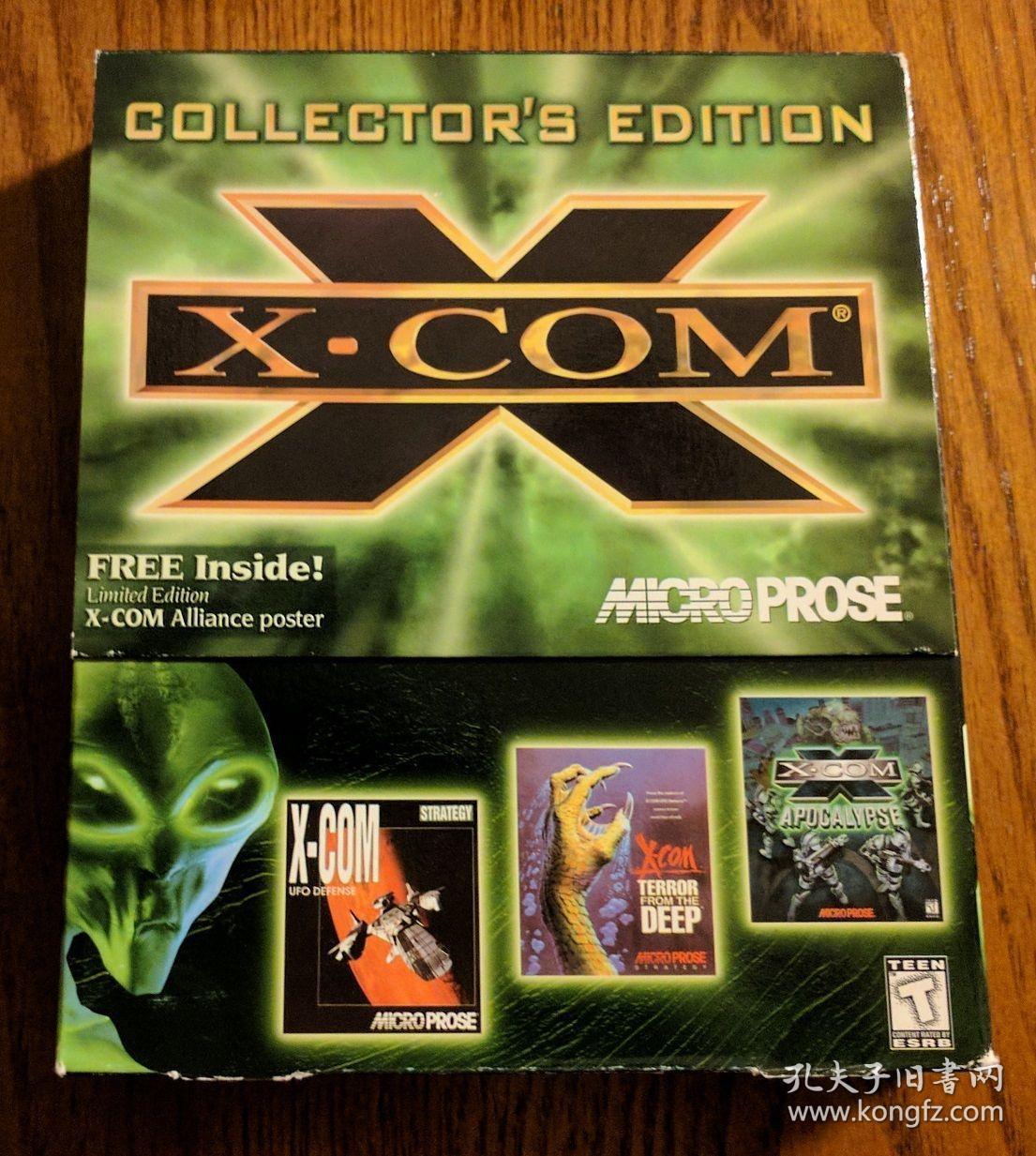 XCOM: Collector's Edition 幽浮收藏版Steam 幽浮2 标准版豪华版 电脑游戏 大航海 光荣公司