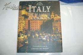 ITALY:The beautiful cookbook (大8开布面精装本厚册《意大利美食谱》) 图文精美  英文原版 本店可提供发票
