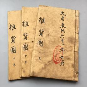 推背圖(3冊36張)