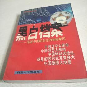 黑白档案:走进中国职业化足球的神秘禁区