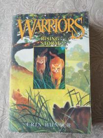英文原版书籍《WARRIORS  RISING STORM》铁橱东1--1内