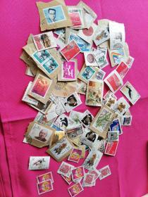 邮票(使用过)共95张