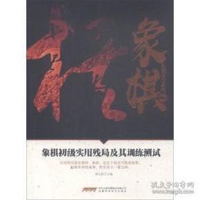 象棋初级实用残局及其训练测试/象棋阶梯课堂系列
