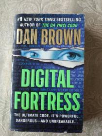 英文原版书籍《DAN BROWN--DIGITAL FORTRESS》铁橱东1--1内