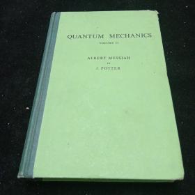 英文原版。量子力学第二卷(译自法文)