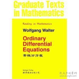 正版二手包邮常微分方程(英文版) W.Walter9787506259286