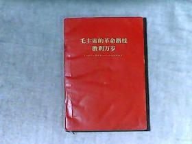 毛主席的革命路线胜利万岁1921.7-1969.4