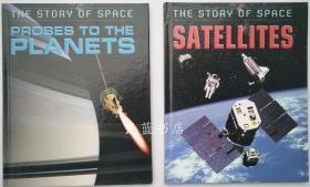太空探索科普系列 儿童百科科技奥秘The story of space 英文原版 两本30元