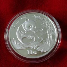 1994年1盎司熊猫银质纪念币