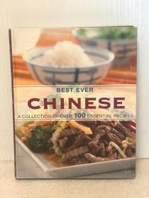100道美味中国菜 Best Ever Chinese A Collection of Over 100 Essential Recipes (美食于烹调)英文原版书