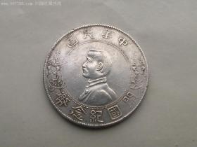 银元;中华民国开国纪念银币;1元、一元、壹圆(包老包真)