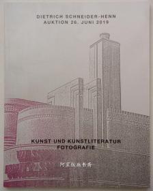德国施耐德海恩拍卖行古籍版画藏书票摄影作品2019年拍卖图录
