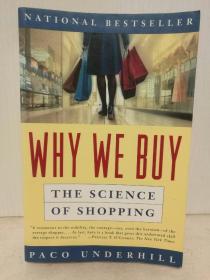 为什么我们买买买:关于消费的科学研究 Why We Buy: The Science Of Shopping by Paco Underhill (社会学)英文原版书