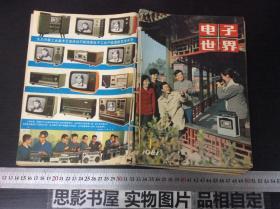 电子世界【1981年1--12期全年 穿线合订本】