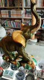唐三彩《大象》