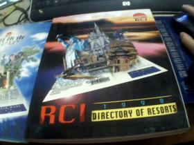 1998年  RCI  DIRECTORY  OF  RESORTS