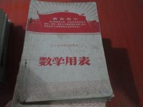 、、辽宁省中学试用课本:数学用表