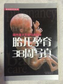 胎儿孕育38周写真(国内首次引进经典版本 新妈妈宝宝系列)【32开 2003年一印 全铜版彩印】