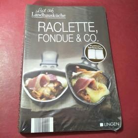 外文原版菜谱--raclette