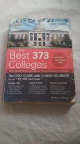 THE PRINCETON REVIEW:THE BEST 373 COLLEGES(2011 EDITION)  厚册