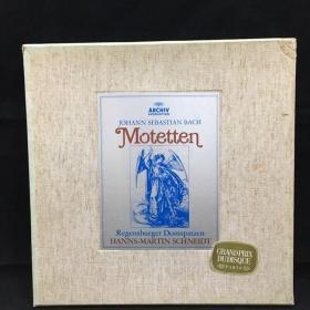 古典音乐黑胶唱片:一盒两张全,带一份解说,约翰·塞巴斯蒂安·巴赫(Johann Sebastian Bach)作品。JOHANN SEBASTIAN BACH,Montetten七八十年出版 大33转