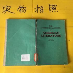 THE CAMBRIDGE HANDBOOK OF AMERICAN LITERATURE   有点磨损
