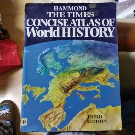 The Times Concise Atlas of World History(泰晤士简明历史地图集)第三版