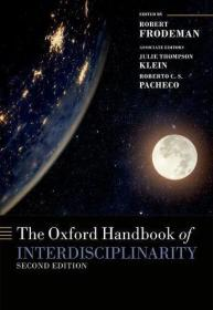现货 The Oxford Handbook of Interdisciplinarity 2e 英文原版 牛津跨学科手册