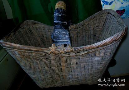 八十年代竹篮