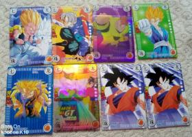 七龙珠卡片8张