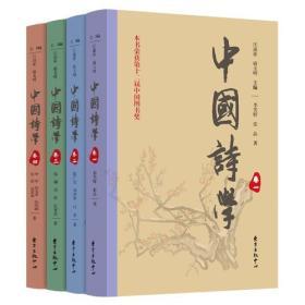 中国诗学(四卷本)  全新