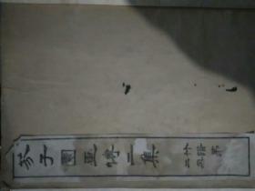 芥子园画传二集竹谱第二册