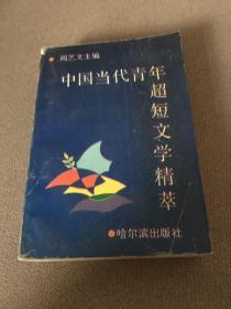 中国当代青年超短文学精萃(一厚册全,好文章琳瑯满目)