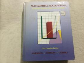 MANAGERIAL ACCOUNTING CONCEPTS FOR PLANNING,CONTROL, DECISION MAKING 计划、控制、决策的管理会计概念 (英文原版) 精装