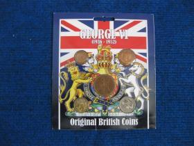 英国硬币套装5枚——乔治六世