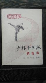 少林十三抓技击术(附老武术家陈广余献方)