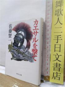 佐藤贤一  カエサルを袭て 日文原版64开中公文库版小说书さ