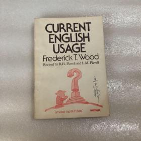 CURRENT ENGLISH USAGE