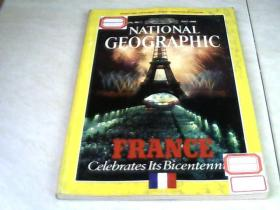 NATIONAL GEOGRAPHIC  1989.1【16开 看图下单】