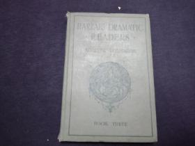 1937年精装本 dramatic  readers  多图片  像是童话故事插图