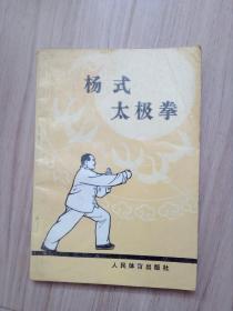 《杨式太极拳》