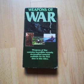 录像带:WEAPONS  OF  WAR(原版英文)