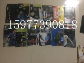 足球俱乐部2009年中插全24张缺少4A5B存22张